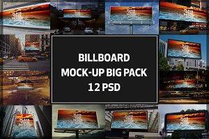 Billboard Mock-up Big Pack#2