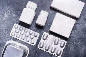 Medical containers for drugs