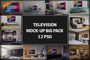 Television Mock-up Big Pack#2