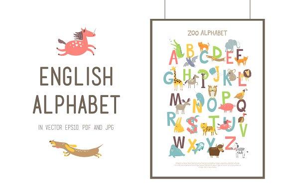 ZOO ENGLISH ALPHABET