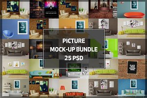 BUNDLE! - 25 Picture Mock-up
