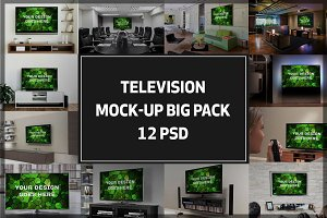 Television Mock-up Big Pack