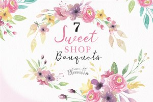 Sweet Floral Bouquets Flowers Kit