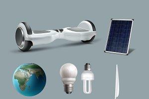 Renewable energy set