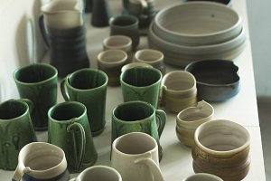 Hand craft pottery studio