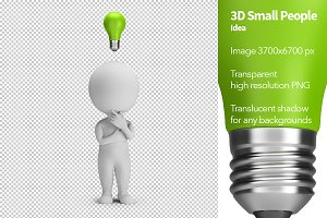 3D Small People - Idea