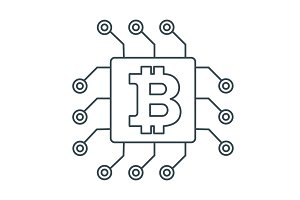 bitcon on chip
