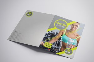Folding A3 Female Fitness Template