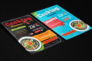 4 Cooking Posters / Flyers A4 Temp