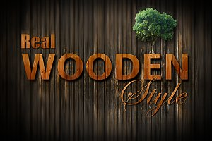 Beauty Wooden Style
