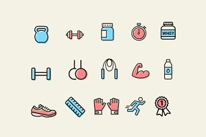 15 CrossFit Icons
