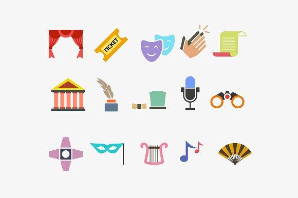 15 Theatre Performance Icons