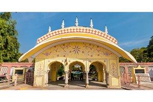 Pondrik Park in Jaipur, India