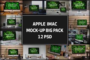 iMac Mock-up Big Pack#2