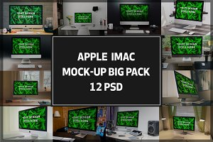 iMac Mock-up Big Pack#1