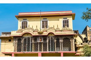 House in the old town of Jaipur, India