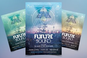 Future Sound - Futuristic Flyer Vol2