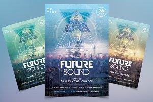 Future Sound - Futuristic Flyer Vol2