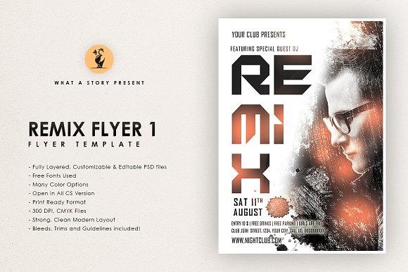 Remix Flyer 1