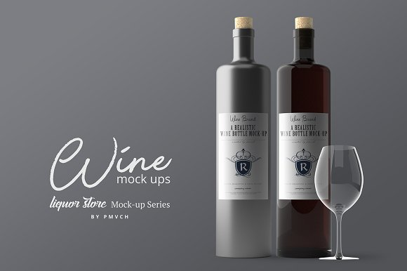 Wine Mockups V.2