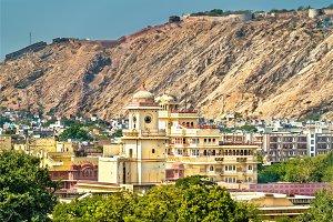 View of Jaipur City Palace - Rajasthan, India
