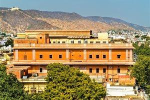Sawai Man Singh Town Hall in Jaipur, India