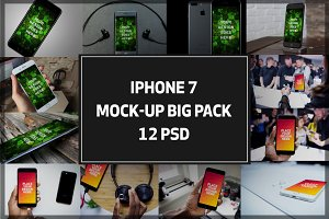 iPhone7 Mock-up Big Pack#2