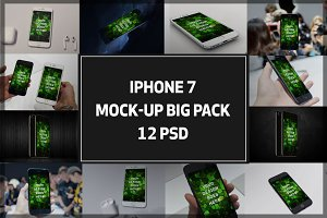 iPhone7 Mock-up Big Pack#1