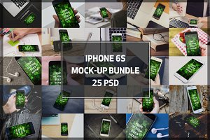 BUNDLE! - iPhone 6S Mock-ups