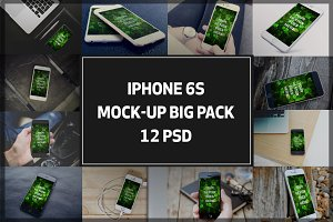 iPhone Mock-up Big Pack#1