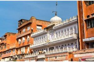 Buildings in Jaipur Pink City. India