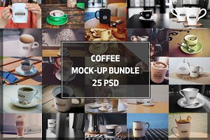 BUNDLE! - Coffee Mock-ups