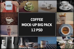 Coffee Mock-up Big Pack#1