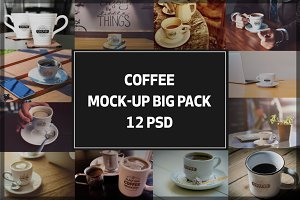 Coffee Mock-up Big Pack#2