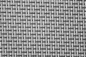 Sackcloth Detail Black and White