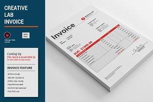 Creative Lab Invoice