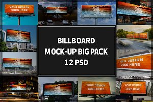 Billboard Mock-up Big Pack