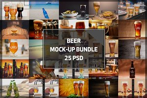 BUNDLE! - Beer Mock-ups