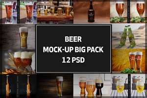 Beer Mock-up Big Pack#1