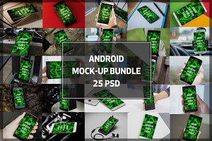 BUNDLE! - Android Display Mock-ups