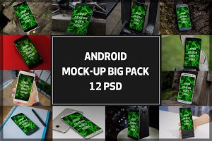 Android Mock-up Big Pack#2