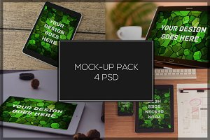 Tablet Mock-up Pack#4