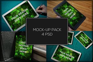 Tablet Mock-up Pack#3