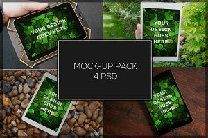 Tablet Mock-up Pack#2