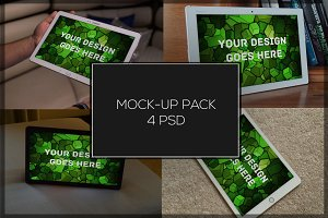 Tablet Mock-up Pack#1