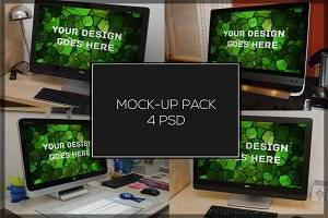 Win PC Mock-up Pack#2