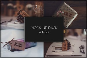 Paper Label Mock-up Pack#1