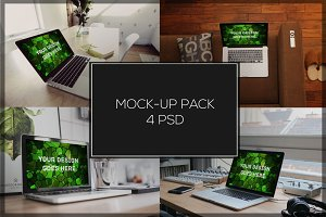 MacBook Mock-up Pack#15