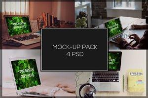 MacBook Mock-up Pack#14