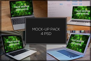 MacBook Mock-up Pack#13
